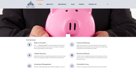Eagle Financial Screenshot